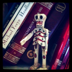 skeleton bookshelf CR